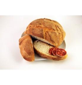 Hogaza de pan de leña