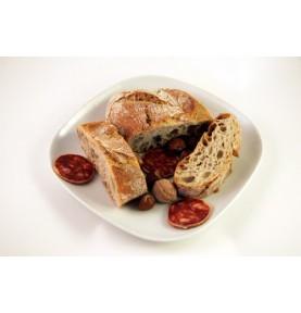 Pan de pueblo en chapata