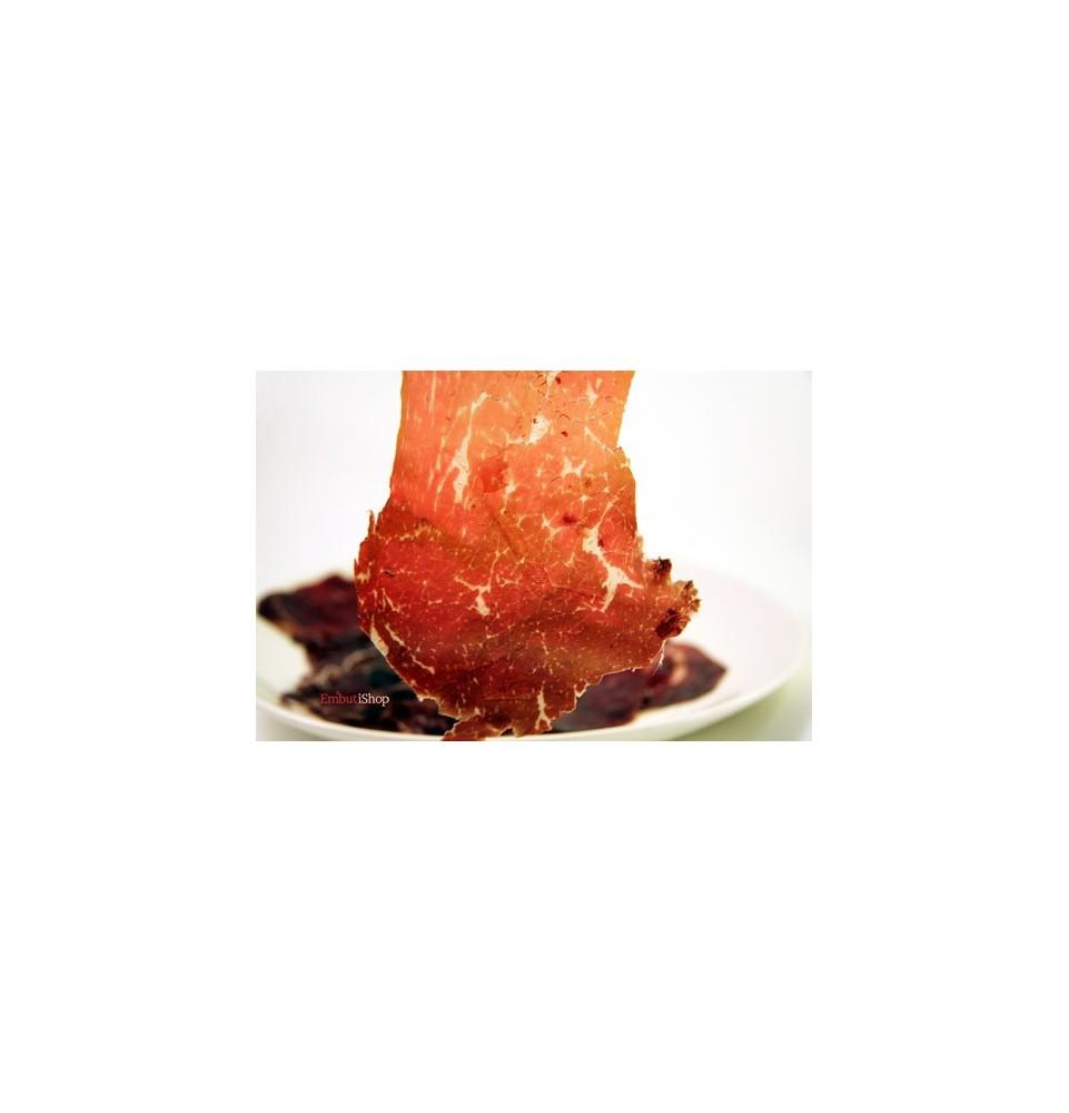 Cecina de Buey El Capricho en lonchas